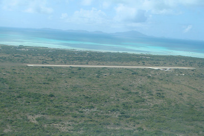 Anegada from the air