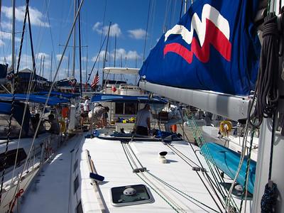 BVI sailing, April 2012