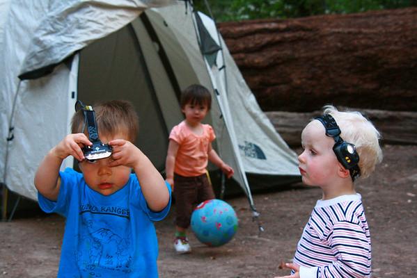 Babies Camping 2009