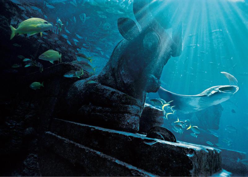 <en>Ruins Lagoon located in the Royal Towers in The Dig </en>