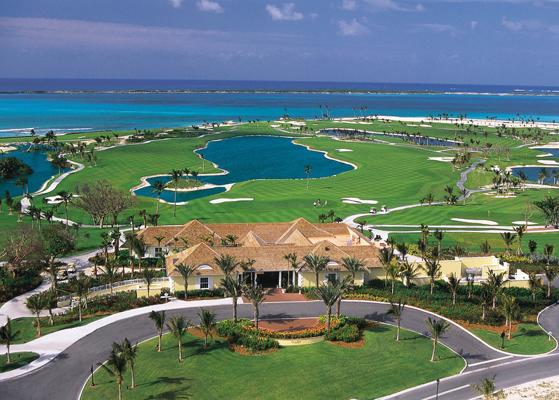 The Clubhouse at Ocean Club Golf Course