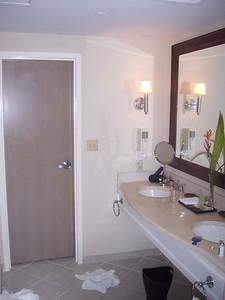 Bye bye bathroom.  Bye bye Bahamas.  Maybe we'll stop back and visit someday.