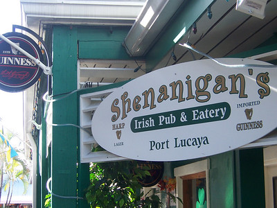 Hey, an Irish Pub!  Sweet.