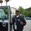 Stirling, our driver for our city taxi tour