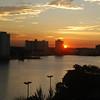 Sunset over Miami