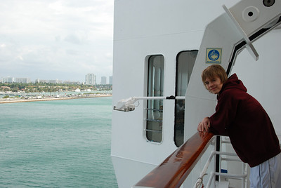 Leaving Miami Friday afternoon