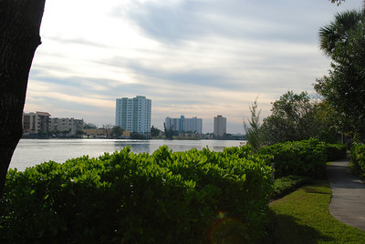 View from our hotel in Miami