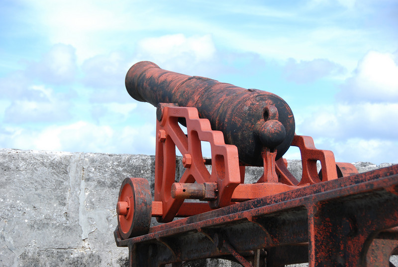 Canon at Fort Fincastle