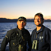 Lee and Peter...our Naturalists for the trip.