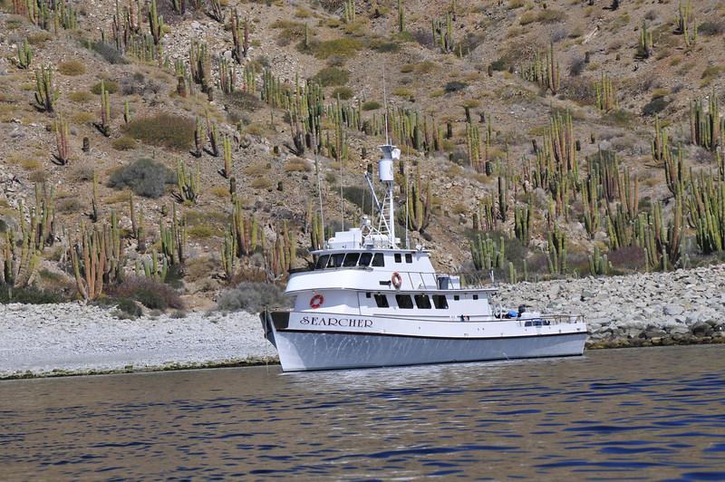 Ou wonderful boat - Searcher