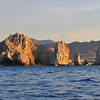 Morning sunrise at Cabo San Lucas.