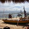 Boats at Nusa Lembongan beach