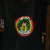 Mickey Reggae shirt in a store window.   Somehow I doubt this was sanctioned by Disney.