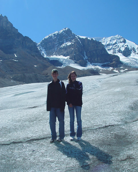 Zack and Kenz OUT OF BOUNDS on a deadly glacier!!!