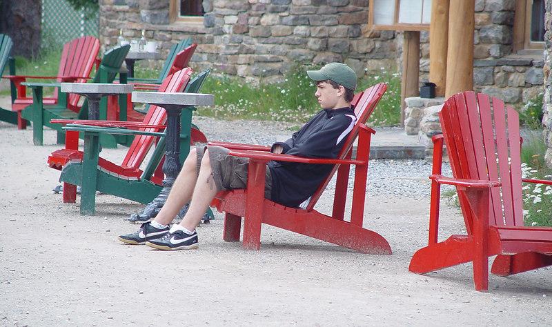 Zack relaxing at Numtijah