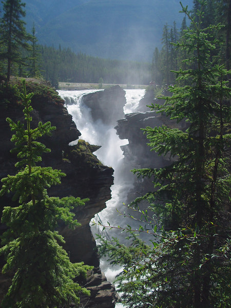 Athabasca falls...these were crazy powerful
