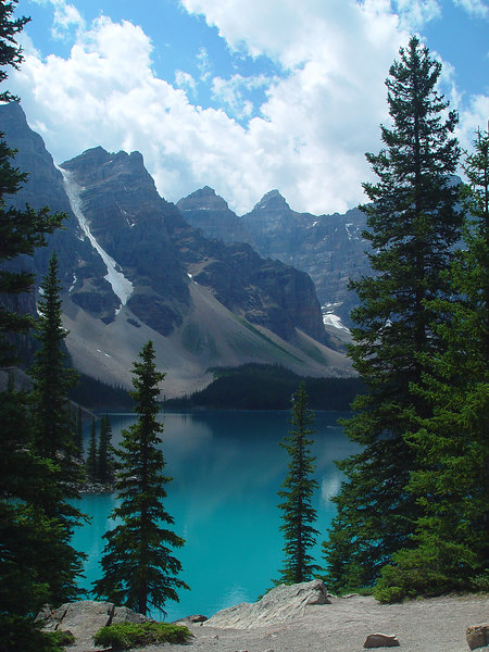 Maraine Lake (which was THE most beautiful blue)