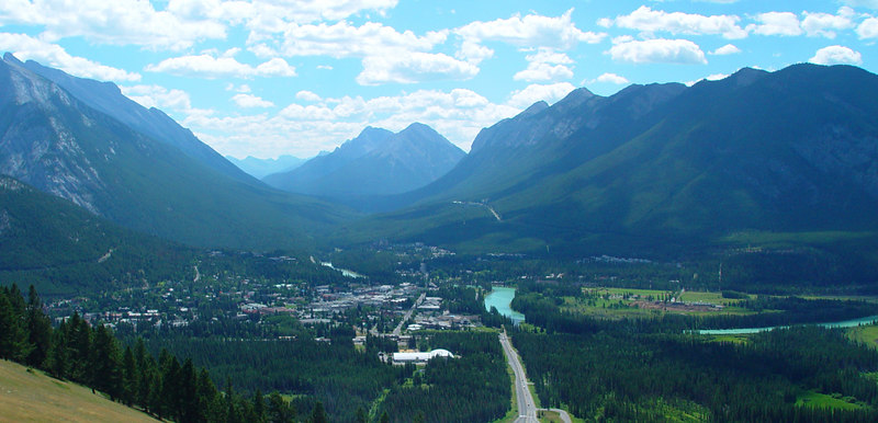 the not so tiny town of banff