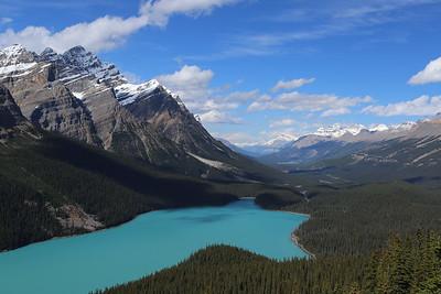 Banff, Jasper, and Lake Louise, September 2015