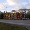 These are the condos we stayed in Canmore (just outside of banff). Look at that backdrop!