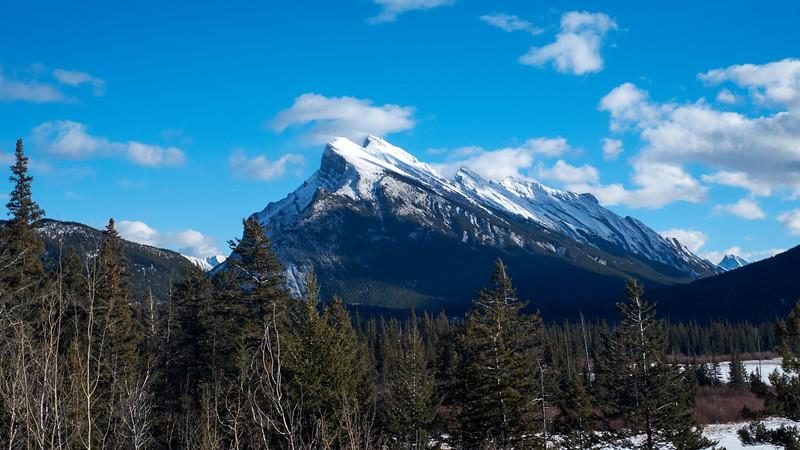 Mount Rundle  Banff, Alberta, Canada