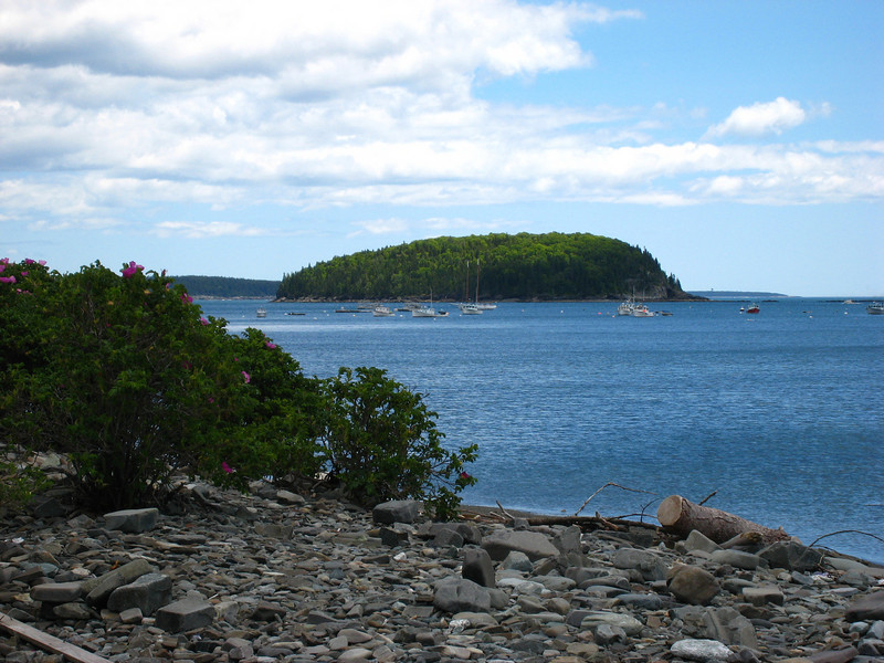 Some of Cathy Photography,from sand bar at low tide between Bar Harbor a the Island