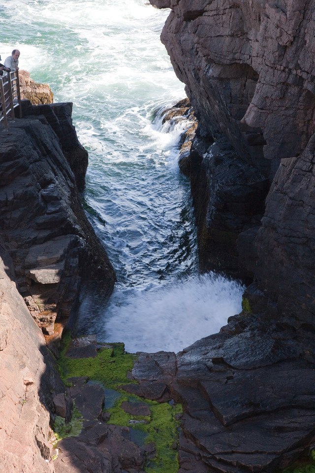 Off of the loop road, Acadia,Thunder Hole.
