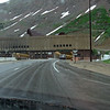 When you cross the Continental Divide, you go through a tunnel!  Colorado