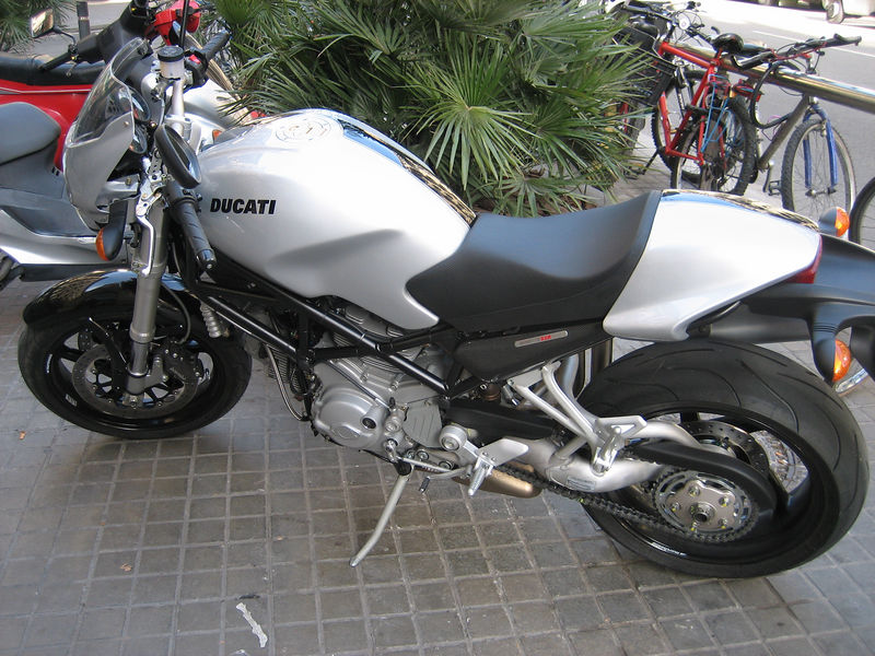 A beautiful Ducati 1000cc race monster
