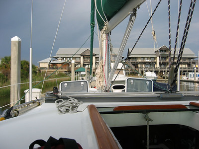 Bareboat charter course, Pensacola, FL - April 2010