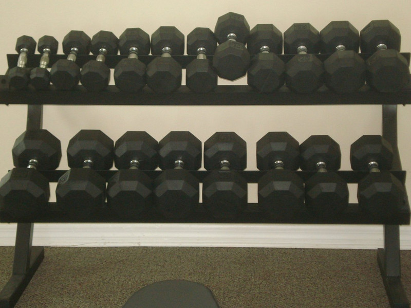 Barbells at Clubhouse