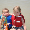 For heavy duty swimming, we put on our life jackets.