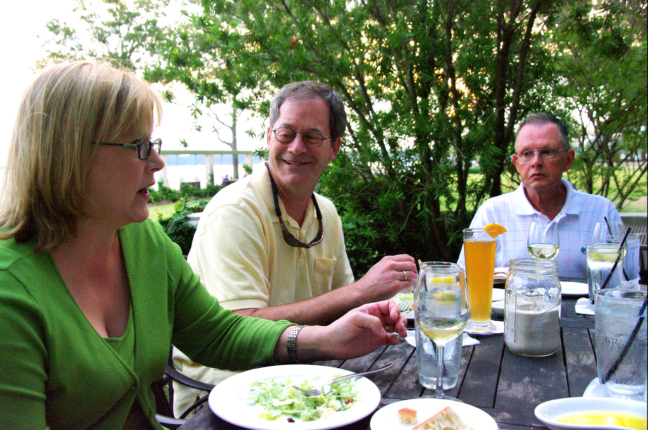 Dinner at the Saltus River Grill in Beaufort, S.C.