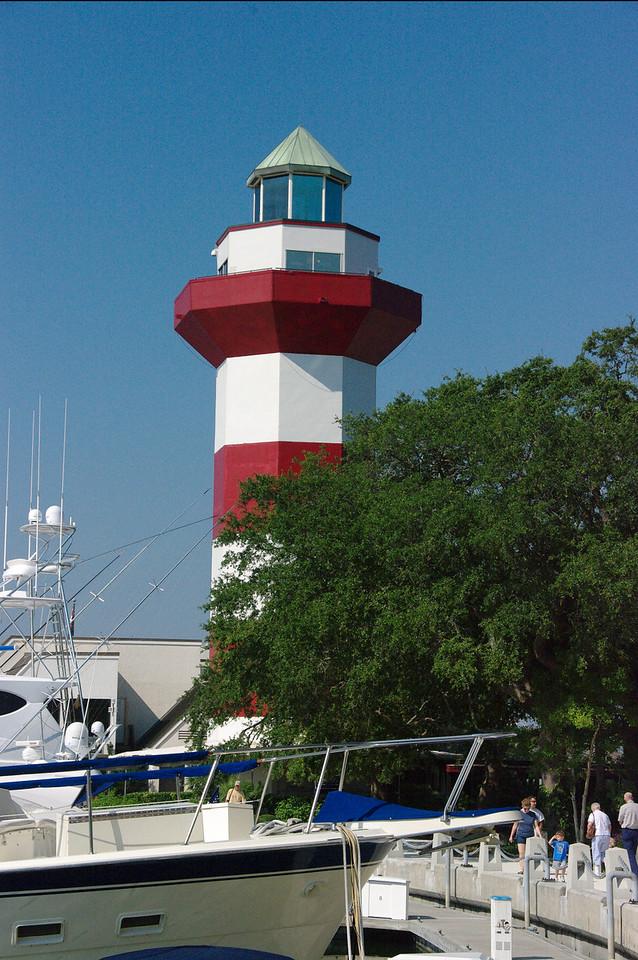 Harbour Lighthouse on Hilton Head