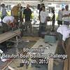 National Boat Building Challenge 2016 May 7th 11 am to 5 pm on the Beaufort waterfront