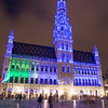 Town hall tower - Grand Place. This tower is 60+ meters high