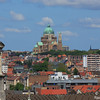 View of the Basilica of Koekelberg from Parking 58 - Brussels