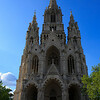 Notre Dame de la Chapelle (Our Lady of the Chapel) is a large Romanesque-Gothic church in Brussels