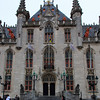 City hall in Market square - Brugge