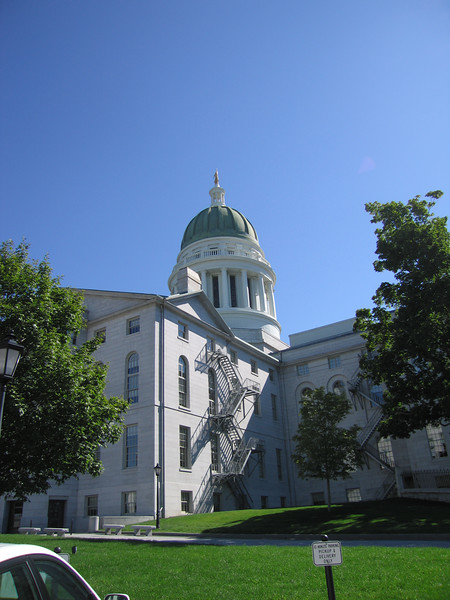 Maine capital building