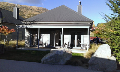 Our accommodation at BenBrae in Cardrona.