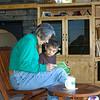 Nanny & Charlie reading books