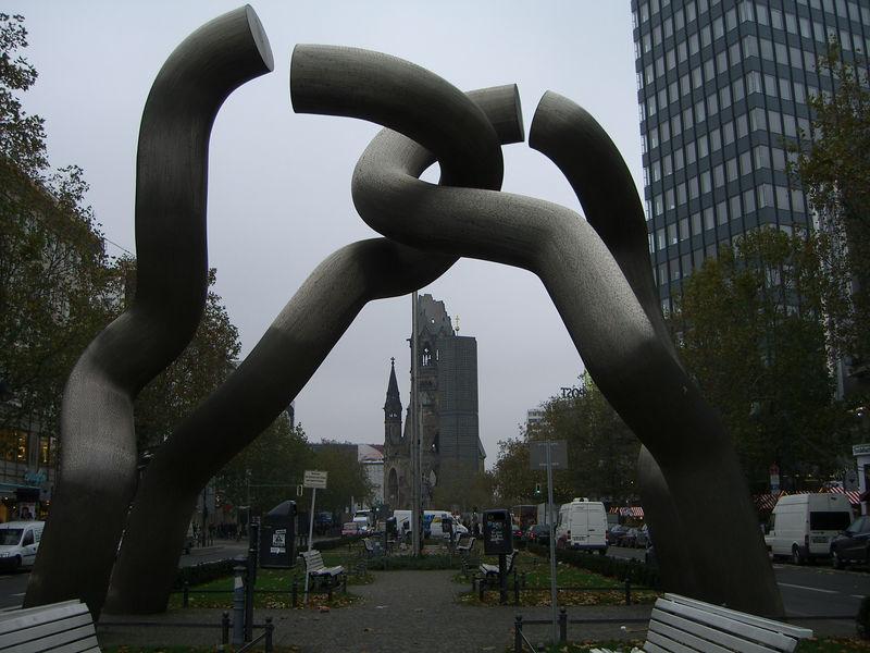 Gedächtniskirche at Kurfürstendamm