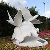 Bermuda - Long tail bird statue