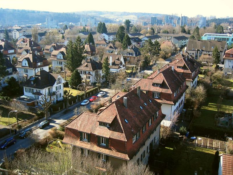 The city Bümplitz Nord, a suburb of Bern