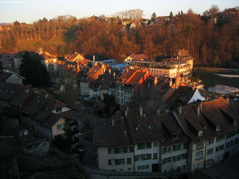 """The """"alt stadt"""" of downtown Bern"""