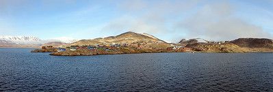 Ittoqqortoormiit, the northern most village in eastern greenland, population 452
