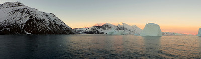 First Sunrise in Greenland