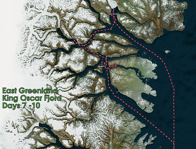 GPS Track Days 7 -10. King Oscar Fjord