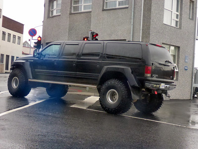 Typical Truck in Iceland